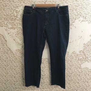 Lauren Ralph Lauren 22w Modern Straight Jean A9-15